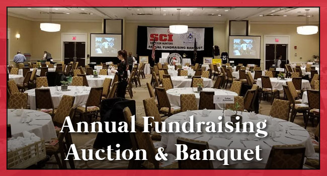 Blue Mountain Chapter, SCI Annual Fundraising Auction & Banquet